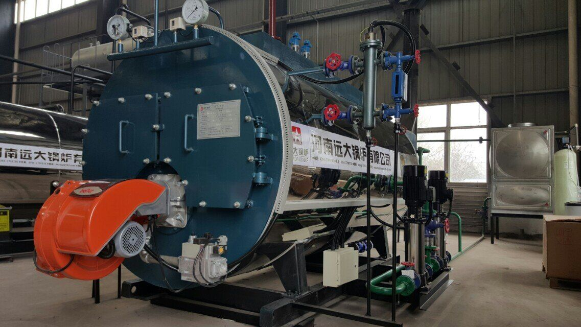 Low pressure 500 kg-8 ton Oil Fired Steam Boiler price
