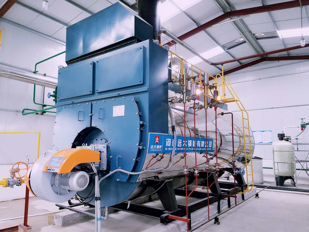 6000kg 6ton 6 ton Condensing Gas Steam Boiler